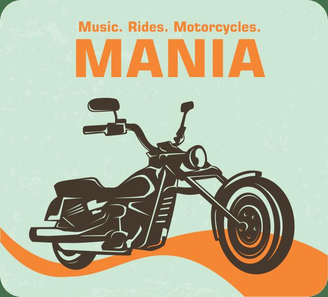 Fridge magnet- motorcycle mania