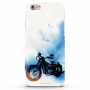 Mobile Case For Apple iphone 6 Bike canvas