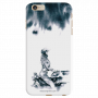 Mobile Case for Apple iphone 6 plus girl with helmet