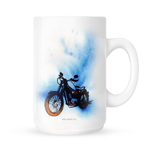 Mug with Bike Canvas