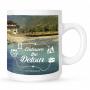 Mug with Embrace-the-detour-lake