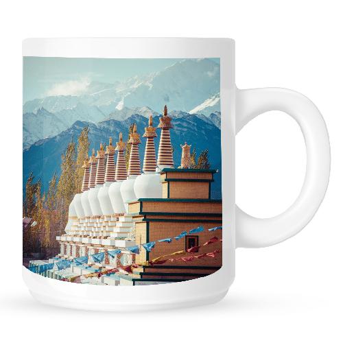 Mug with Stupa