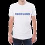 male white tshirt reckless