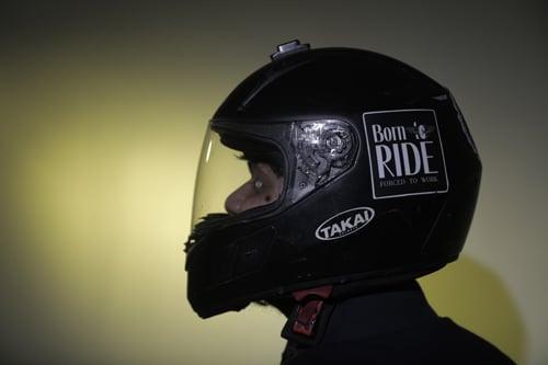 Sticker Born to Ride