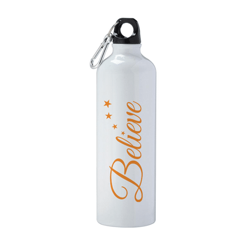 Flask with Believe
