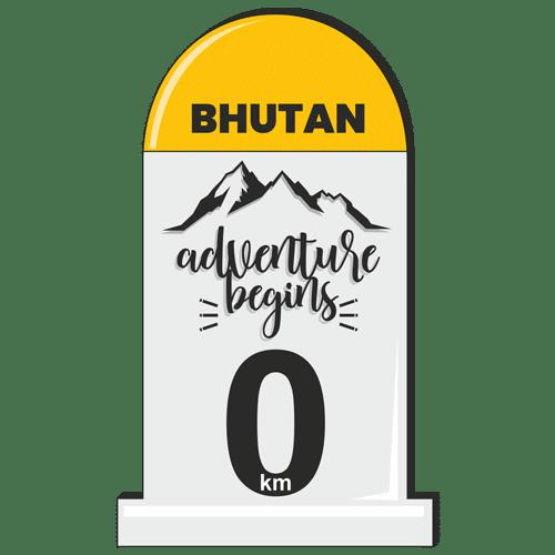 Bhutan_Milestone Stickers