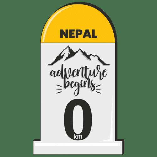 Stickers - milestones_nepal