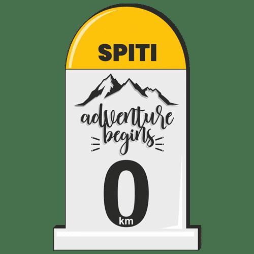 Stickers - milestones_spiti