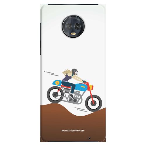 Mobile Case_Moto_G6Plus_female-rider_MainBackView