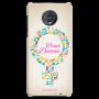 Travel Diaries_Moto G6 Plus offwhite Mobile Case