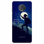 Women Trekking night theme_Moto G6 Plus Mobile Case