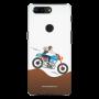 female rider_OnePlus 5T white Mobile Case
