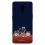 Biker ridding_Oneplus 6T nevi blue Mobile Cases