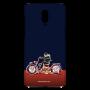 Biker ridding_Oneplus 6T nevi blue Mobile Cases