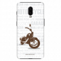 Freedom Motorcycle_OnePlus 6T white Mobile Case