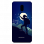 women trekking night theme_OnePlus 6T Mobile Case