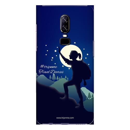 Mobile Case_OnePlus_6_women_trek_MainBackView