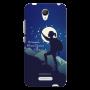 Women Trekking night theme_Redmi note2 Mobile Case