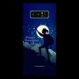 Women trekking night theme_Samsung Note8 Mobile Case