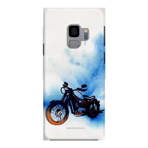 Mobile Case_Samsung_Galaxy_S9plus_bike-canvas_MainBackView