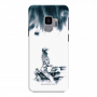 Girl on bike_Samsung S9 Plus white Mobile Case