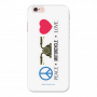 Peace-Motorcycle-Love_iPhone 6 white Mobile Case