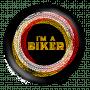 i am a biker_black badge