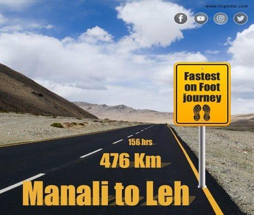 Manali to Leh