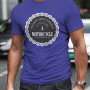 A Motorcycle_male blue tshirt