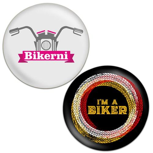 2 Badges_Combo_I_am_a_Biker_black+Bikerni