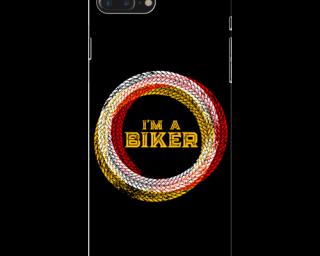 Mobile_Case_iPhone_7_plus_i am_a_biker_black_MainBackView