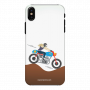Mobile Case_iPhone XS_female-rider_MainBackView