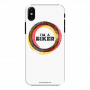 Mobile Case_iPhone XS_i am_a_biker_white_MainBackView