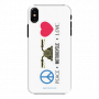 Mobile Case_iPhone XS_peace_motorcycle_love_MainBackView