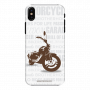 Mobile Case_iphone XS_wow_bullet_white_MainBackView
