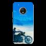 Mobile Case_Moto G5 plus_bike_lake_MainBackView
