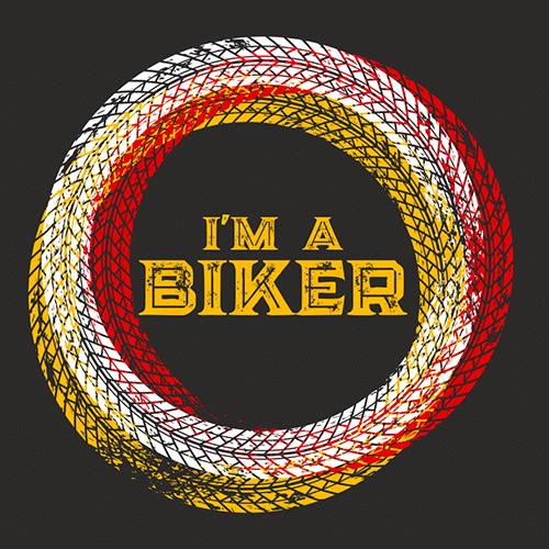 i am a biker magnet