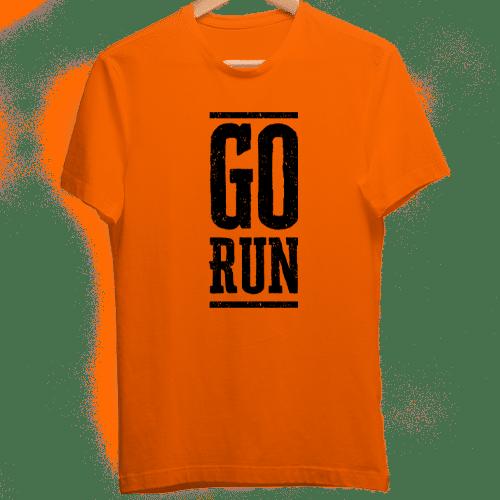 orange dry fit tshirt