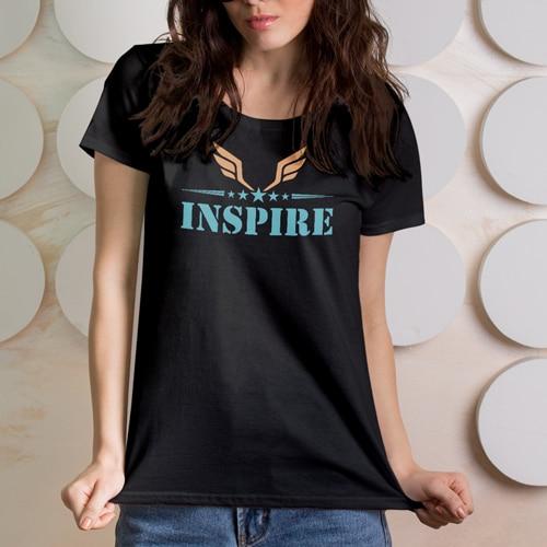 premium tshirt inspire black