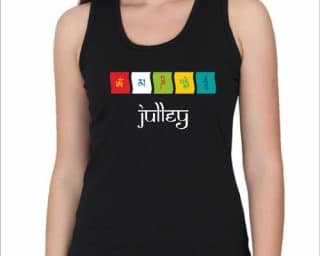 tank top- julley- black
