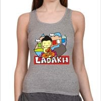tank top- ladakh- grey