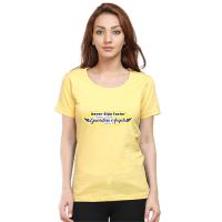 guardian angel yellow premium tshirt