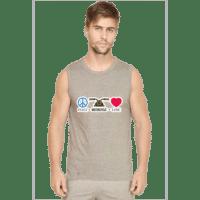 grey- mens sleeveless tshirt