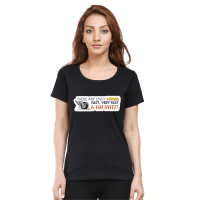 speed black - female premium tshirt
