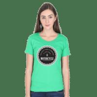 therapist - green female premium tshirt