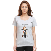 grey wrooman - female premium tshirt