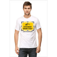 after wisky - white male premium tshirt