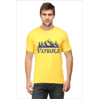 lemon yellow explorer - male premium tshirt