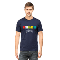 julley - navy blue male premium tshirt