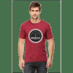 therapist - maroon male premium tshirt